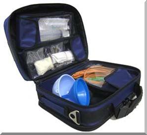 Отравления - первая помощь. Набор для оказания неотложной помощи при эндогенных отравлениях НИСМПт-01-«Мединт-М»